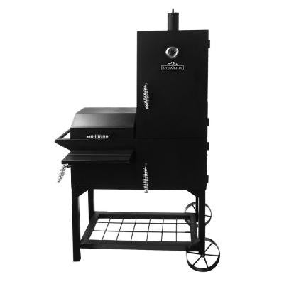 Vertical Offset Firebox Grill and Smoker