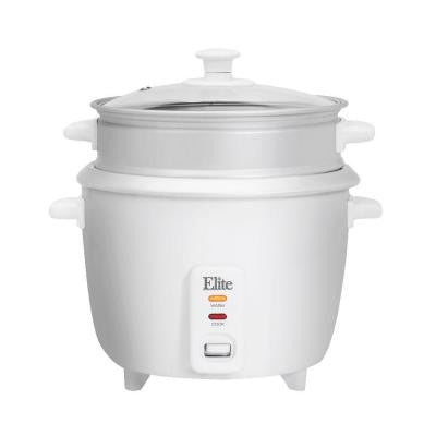 Gourmet 6-Cup Rice Cooker with Steam Tray