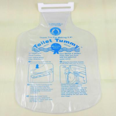 Toilet Tummy Tank Water Saver