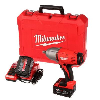 M18 18-Volt Lithium-Ion 1/2 in. Cordless High-Torque Impact Wrench with Friction Ring Kit
