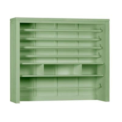 42 in. W Rhododendron Leaf Craft Space Gift-Wrap Hutch