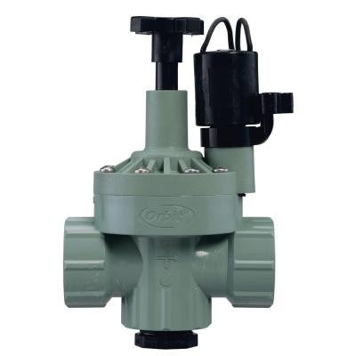 1 in. FNPT Automatic Inline Angle Valve with Flow Control