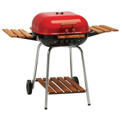 Swinger Charcoal Grill in Red