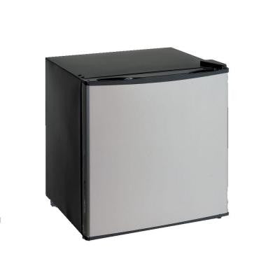 1.4 cu. ft. Dual Mini Refrigerator/Freezer in Stainless
