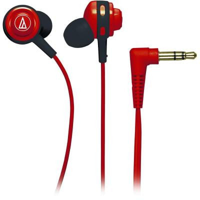 Core Bass In-Ear Headphones - Red