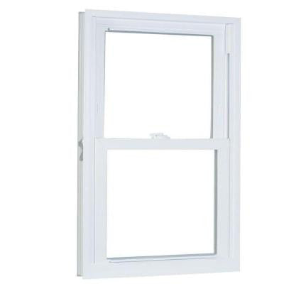 30.25 in. x 60.25 in. 70 Series Double Hung Buck PRO Vinyl Window - White