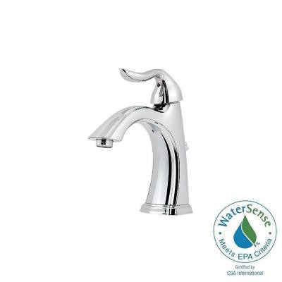 Santiago 4 in. Centerset Single-Handle Bathroom Faucet in Polished Chrome