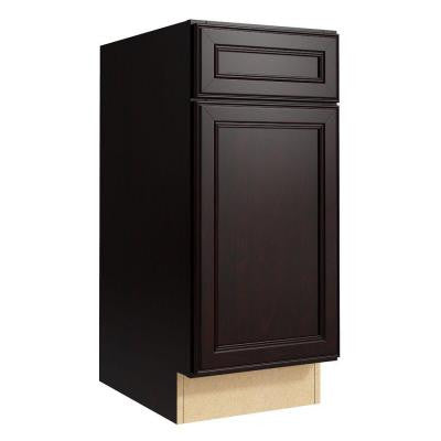 Boden 15 in. W x 34 in. H Vanity Cabinet Only in Coffee