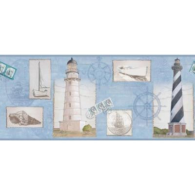 9 in. Seacoast Lighthouse Border