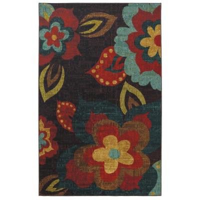 Ayanna Kaleidoscope 5 ft. x 8 ft. Area Rug