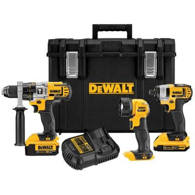 20-Volt MAX Lithium-Ion Cordless Combo Kit with Tough Case (3-Tool)