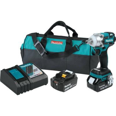 18-Volt LXT Lithium-Ion Brushless 3-Speed 1/2 in. Cordless Impact Wrench Kit