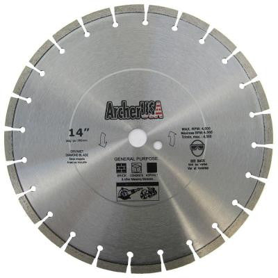 14 in. Diamond Blade for General Purpose