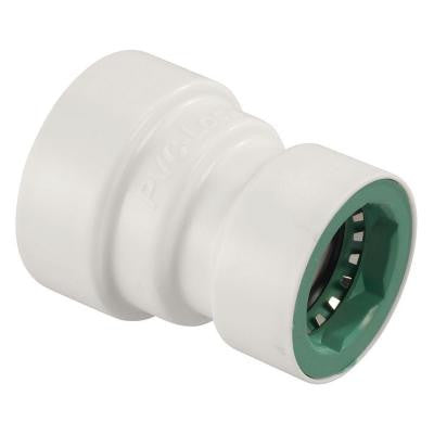 3/4 in. x 1/2 in. PVC-Lock Coupling
