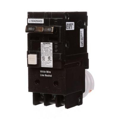 40 Amp Double-Pole Type QFP GFCI Circuit Breaker