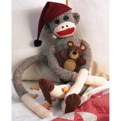 Peejay 21 in. Sock Monkey Kit