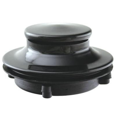 Disposal Stopper for 3-Bolt Mount Waste King in Black
