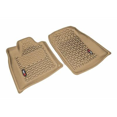 Floor Liner Front Pair Tan 11-12 Durango and Jeep Gr and Cherokee WK