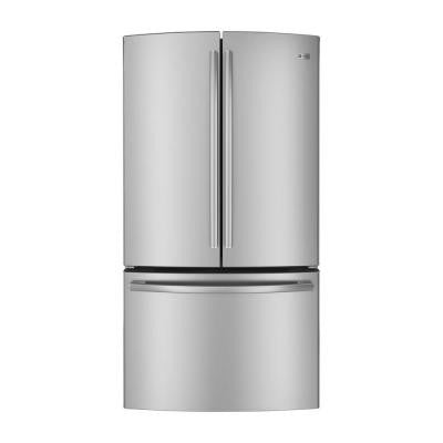 35.75 in. W 23.1 cu. ft. French Door Refrigerator in Stainless Steel, Counter Depth