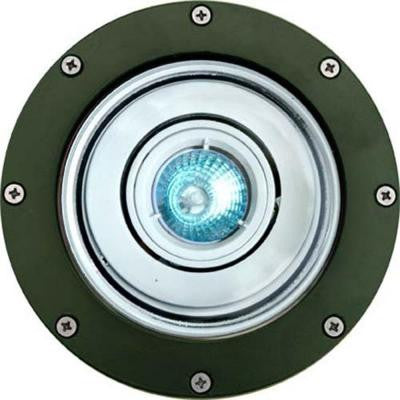 Brantley 1-Light Green Outdoor In-Ground Well Light