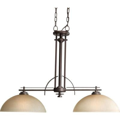 Riverside Collection 2-Light Heirloom Chandelier