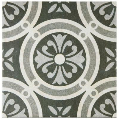 Vintage Classic 9-1/2 in. x 9-1/2 in. Porcelain Floor and Wall Tile (10.76 sq. ft. / case)