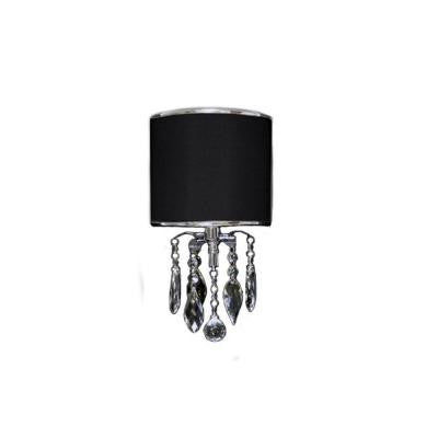 1-Light Polished Chrome Sconce