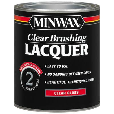 1 qt. Gloss Clear Brushing Lacquer
