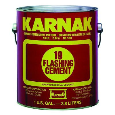 1 Gal. Asphalt Flashing Cement