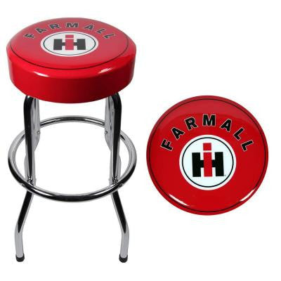 Farmall Garage Stool
