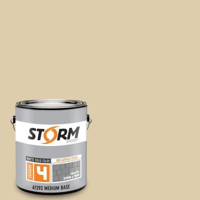 Category 4 1 gal. Sand Storm Matte Exterior Wood Siding 100% Acrylic Latex Stain