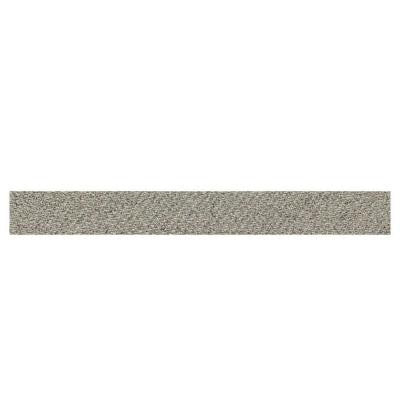 Identity Metro Taupe Fabric 1 in. x 6 in. Porcelain Cove Base Corner Floor and Wall Tile
