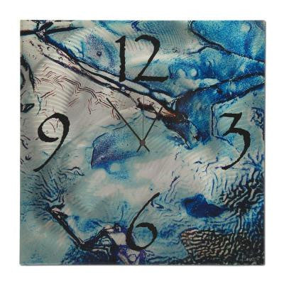 Brevium 22 in. x 22 in. Modern Wall Clock