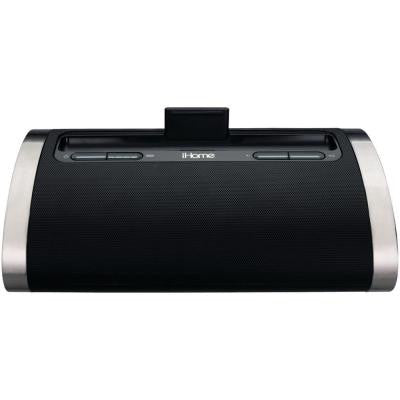 Portable Rechargeable Stereo System for iPod, iPad and iPhone