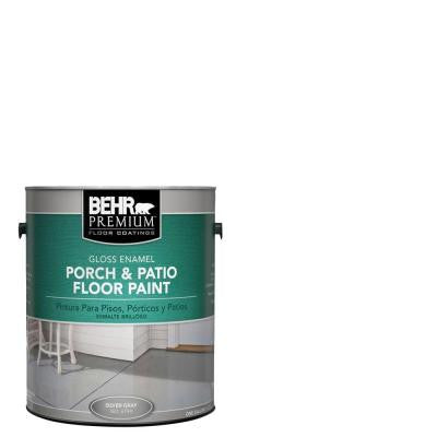 1 gal. #6705 Ultra Pure White Gloss Porch and Patio Floor Paint