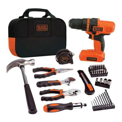 7.2-Volt Li-Ion Cordless Drill and Project Kit