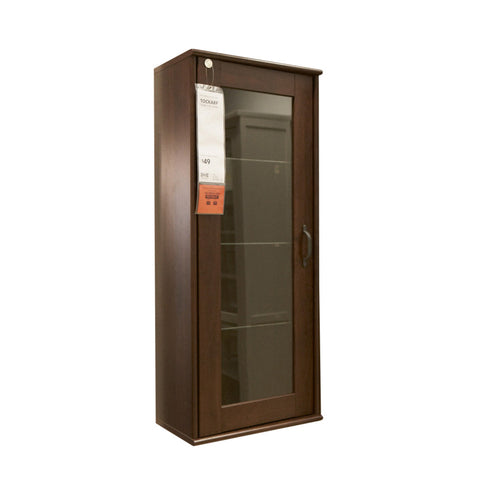 TOCKARP Wall Cabinet With Glass Door – Handy Delivery