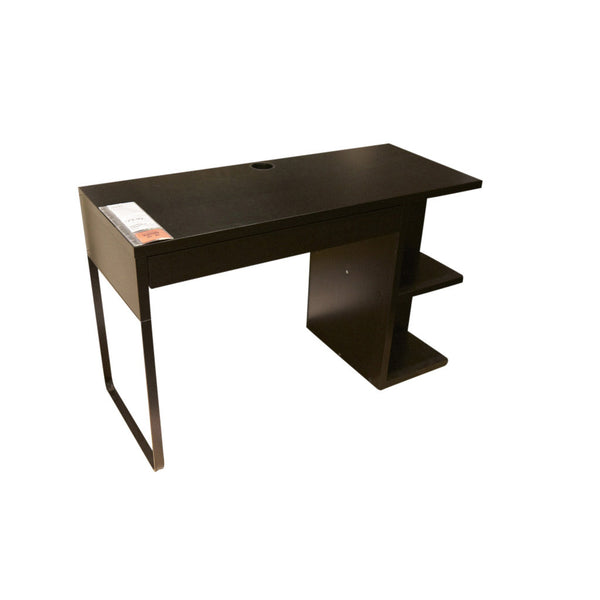 MICKE Desk With Integrated Storage – Handy Delivery
