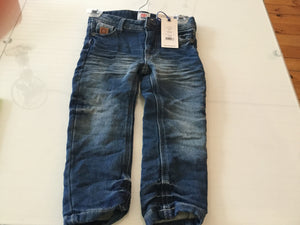 Duralumin's boys faded blue jeans
