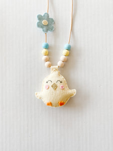 Chick Felt Necklace