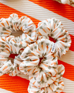 Carrot Scrunchie