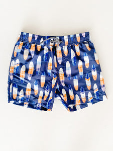Surf Board Swim Shorts