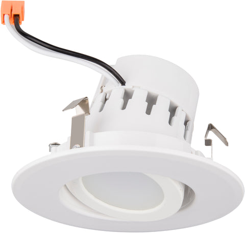 "4"" Adjustable LED Gimbal Recessed Retrofit Light"