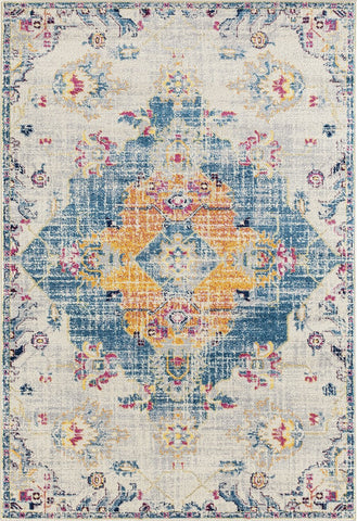 Abigail Collection Rug - Blue (7 Sizes)