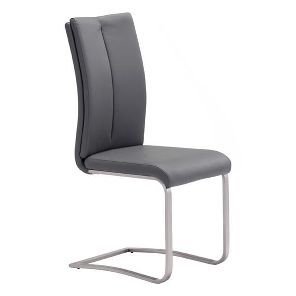 Zuo Rosemont Dining Chair Gray