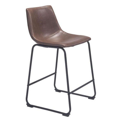 Smart Counter Chair Vintage Espresso Furniture Zuo