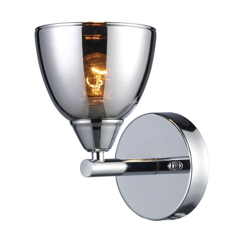 Reflections 1 Light Wall Sconce In Polished Chrome