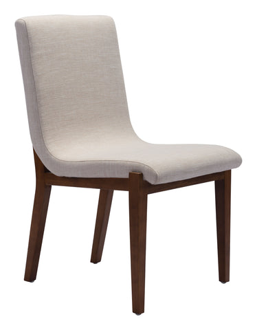 Hamilton Dining Chair Beige Set of 2