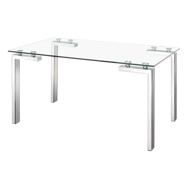 Roca Dining Table Stainless Steel Furniture Zuo