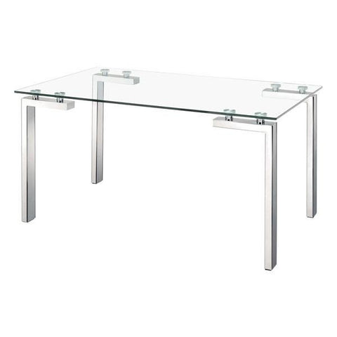 Zuo Roca Dining Table Stainless Steel